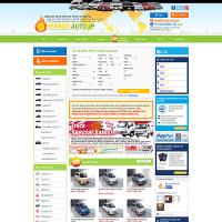 海外向け自動車販売サイト